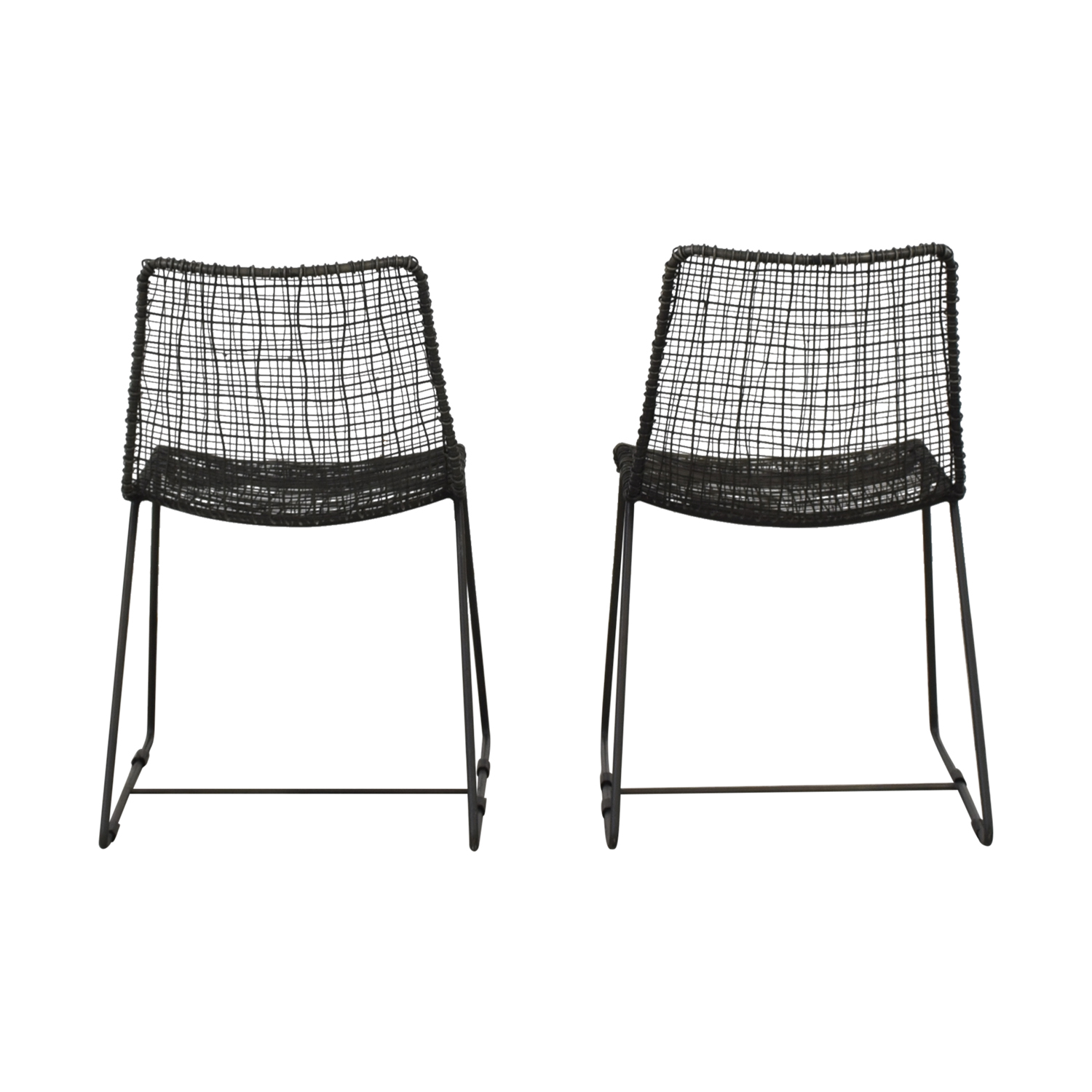 CB2 CB2 Reed Dining Chairs