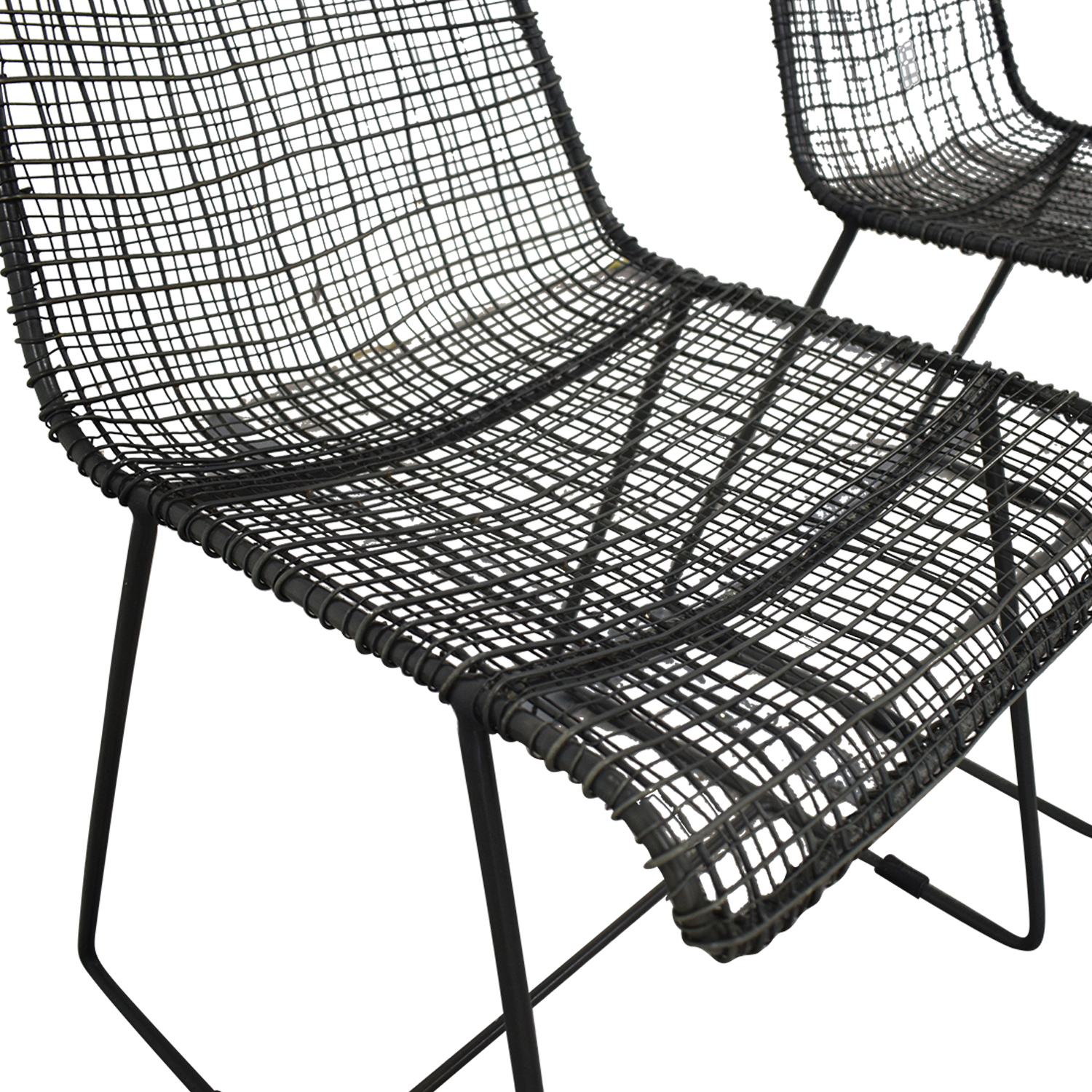 CB2 CB2 Reed Dining Chairs nyc