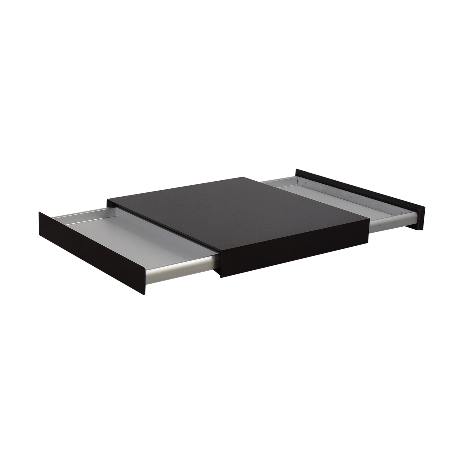 Italian Square Two Drawer Coffee Table dimensions