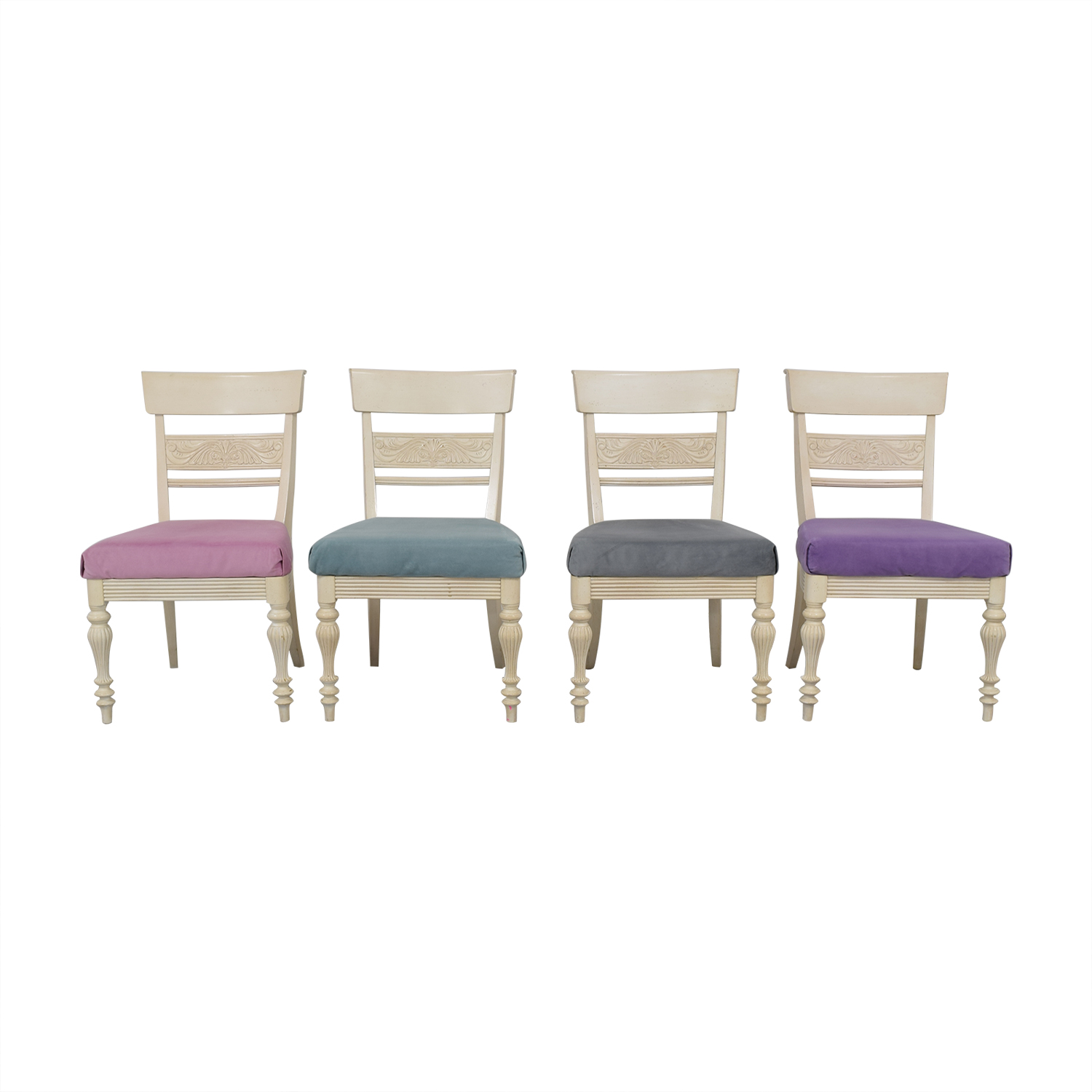 buy Ethan Allen Mackenzie Dining Side Chairs Ethan Allen Dining Chairs