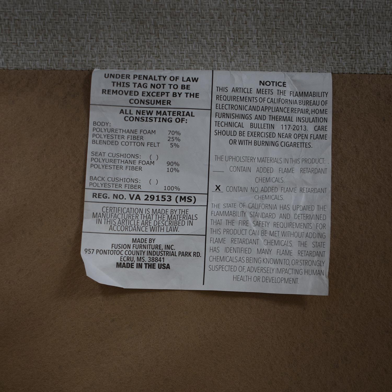 Raymour & Flanigan Raymour & Flanigan Plush Modern Sofa discount