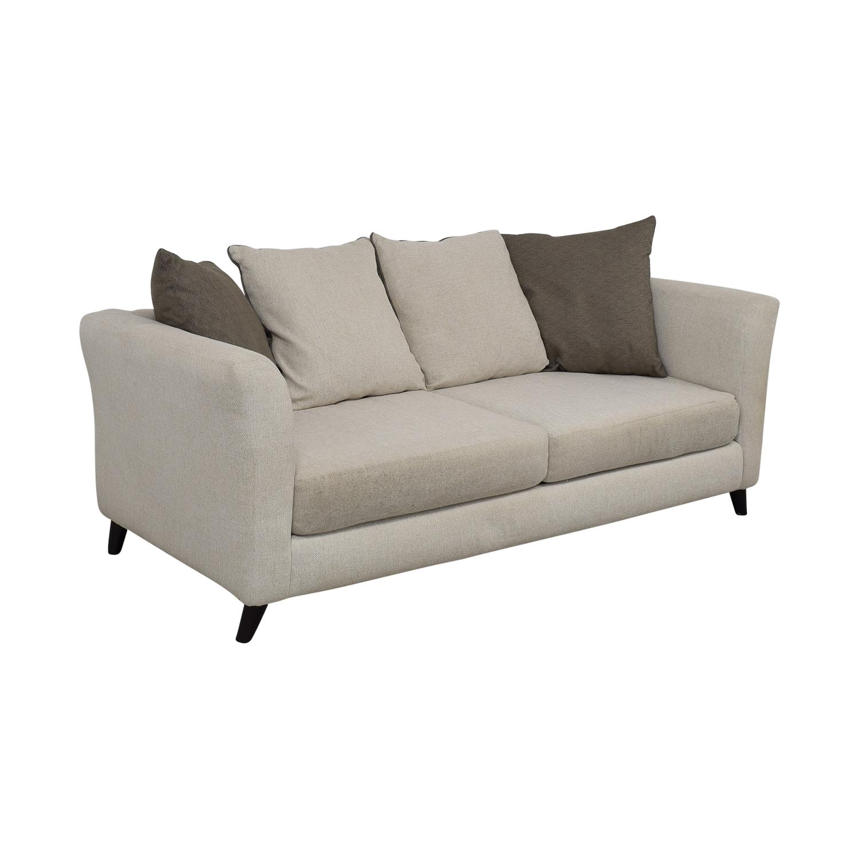 Raymour & Flanigan Raymour & Flanigan Plush Modern Sofa Sofas