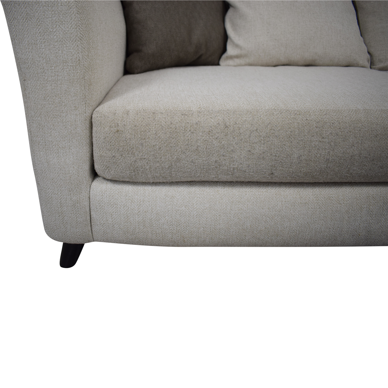 Raymour & Flanigan Raymour & Flanigan Plush Modern Sofa nj