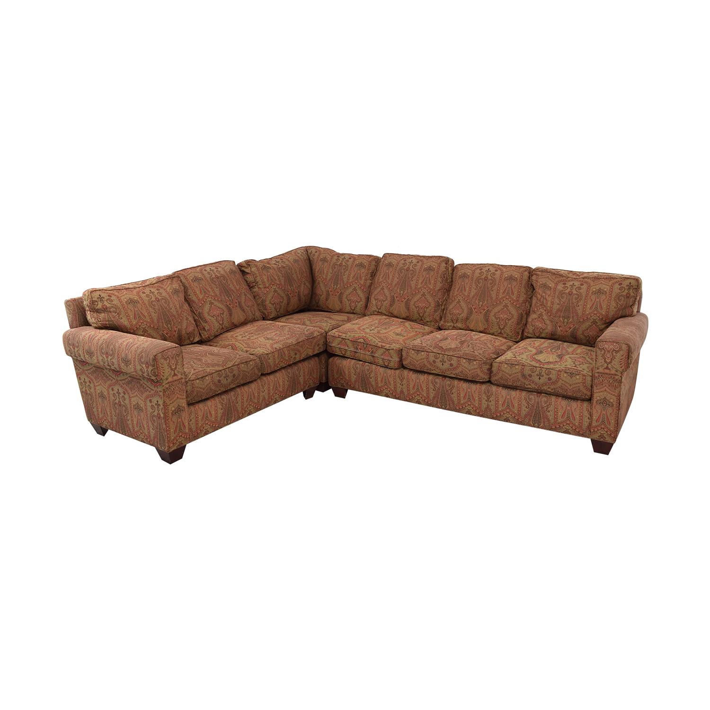 Baker Furniture Baker Furniture Milling Creek Sectional Sofa nj