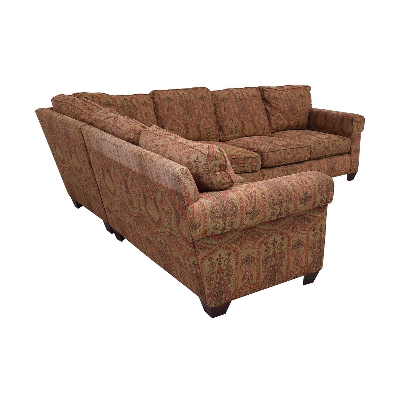 shop Baker Furniture Milling Creek Sectional Sofa Baker Furniture Sectionals