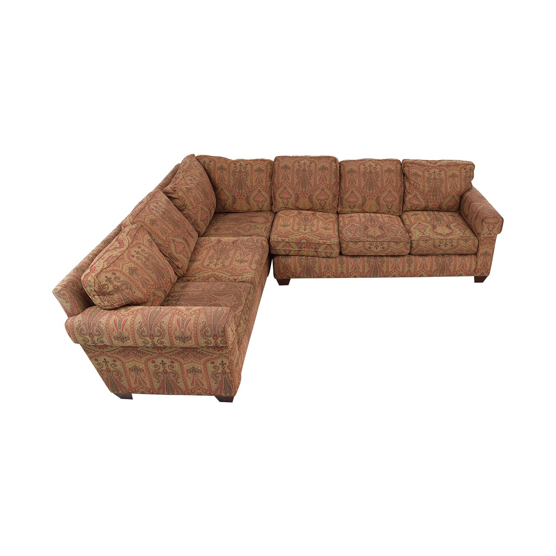 Baker Furniture Baker Furniture Milling Creek Sectional Sofa multicolored
