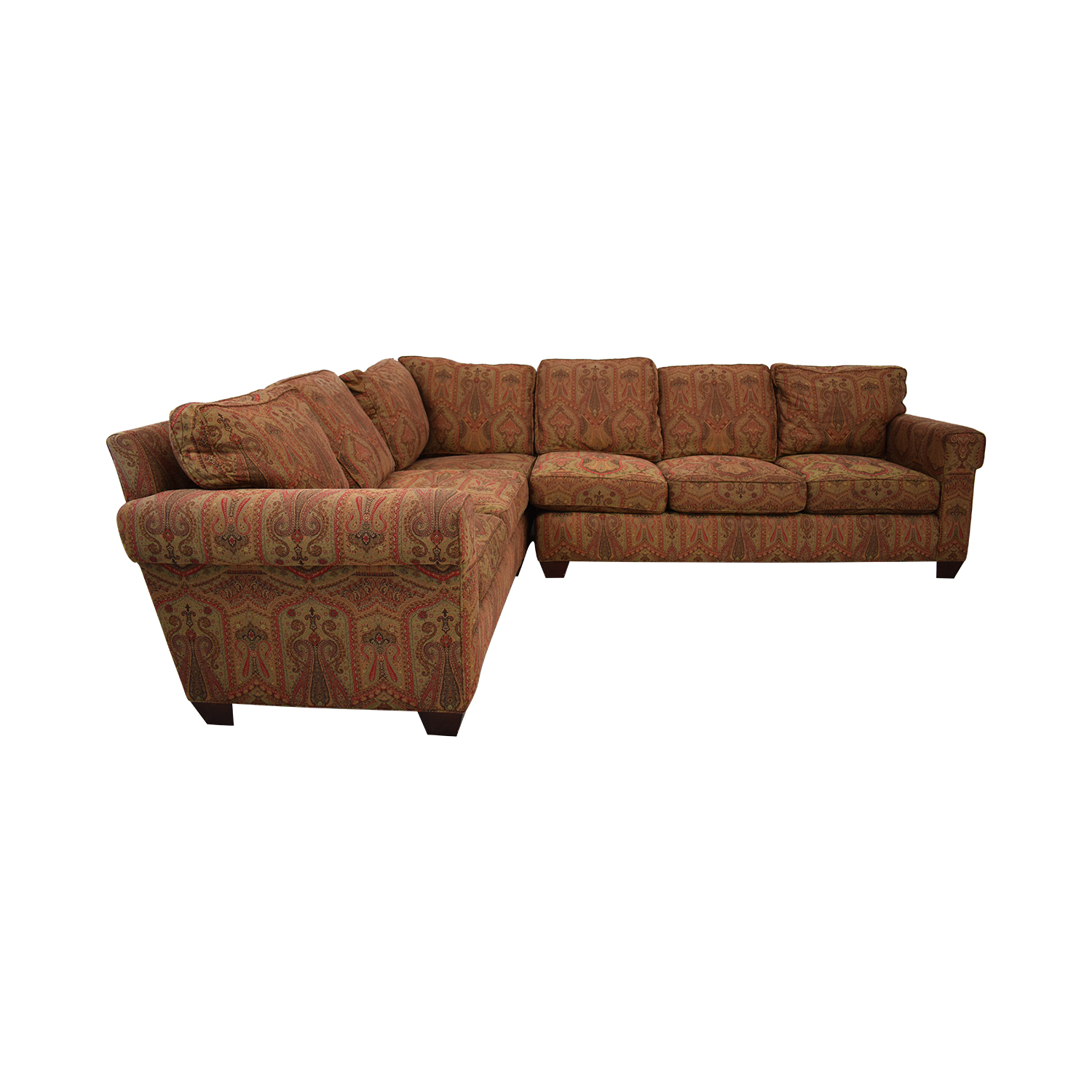 shop Baker Furniture Milling Creek Sectional Sofa Baker Furniture Sofas