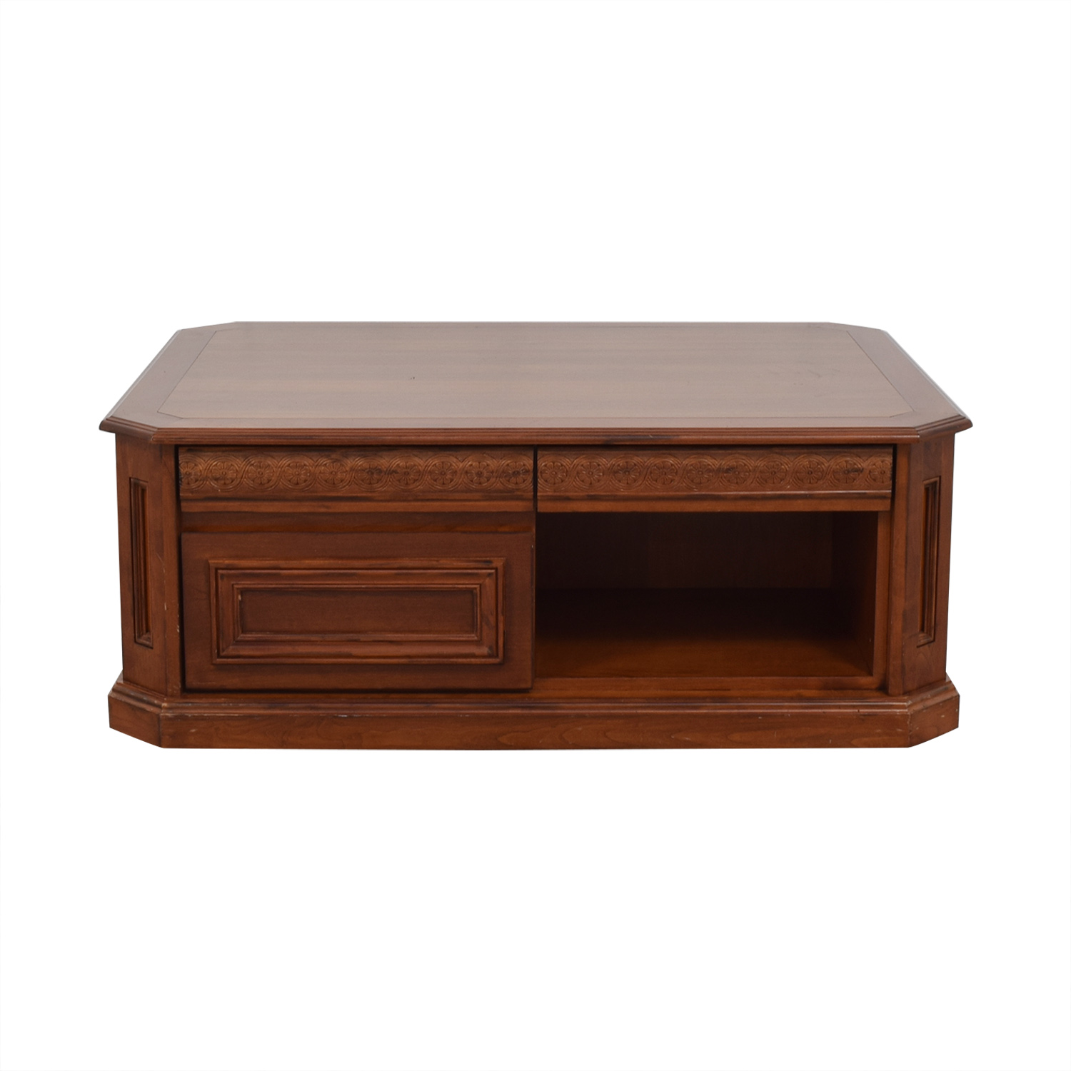 Coffee Table with Drawers discount