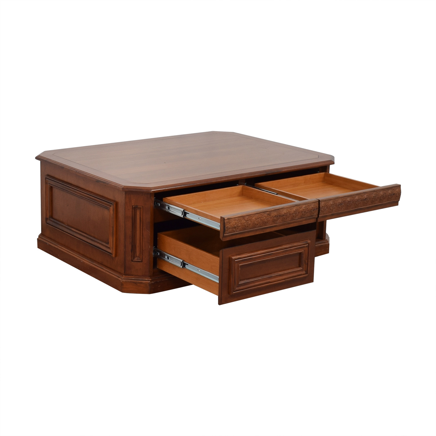 Coffee Table with Drawers for sale