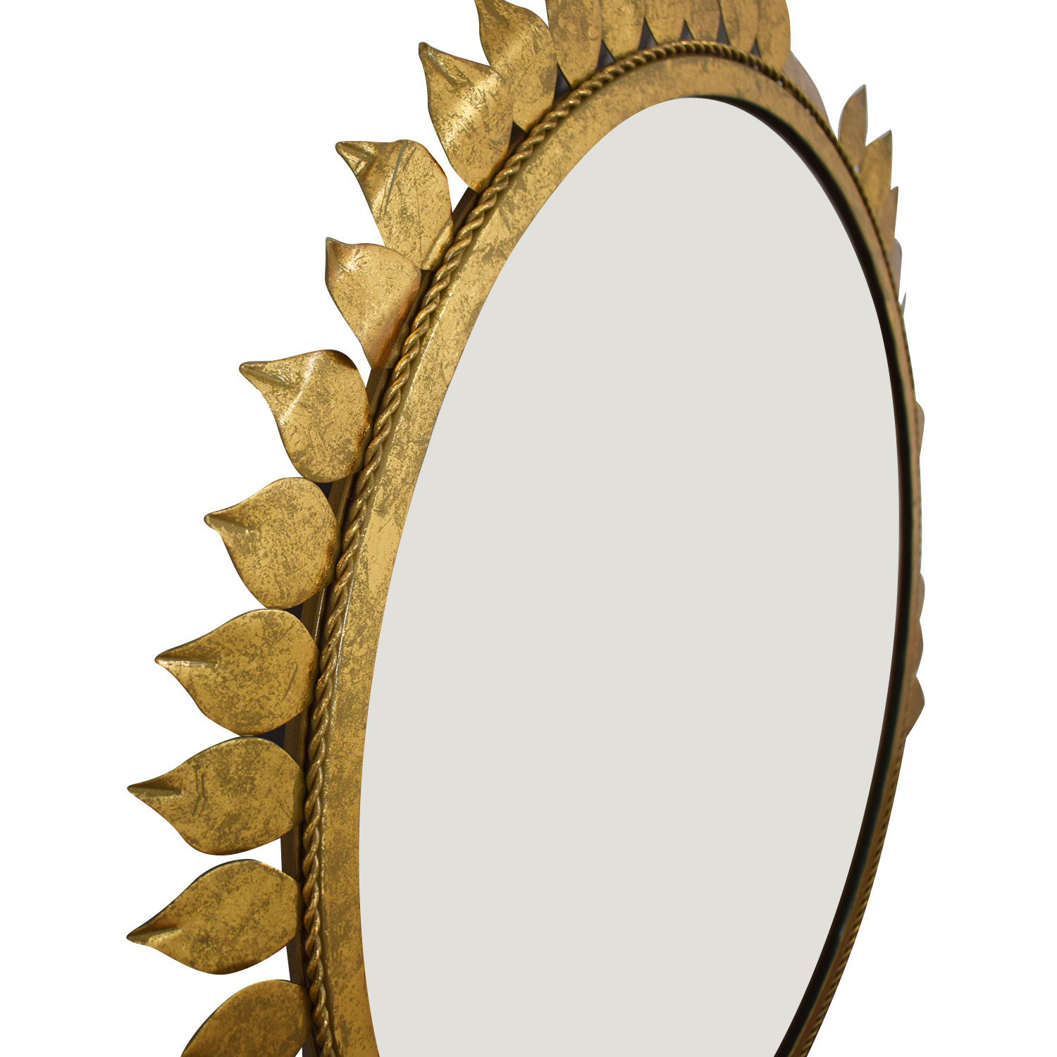 Sunflower Frame Circle Mirror used