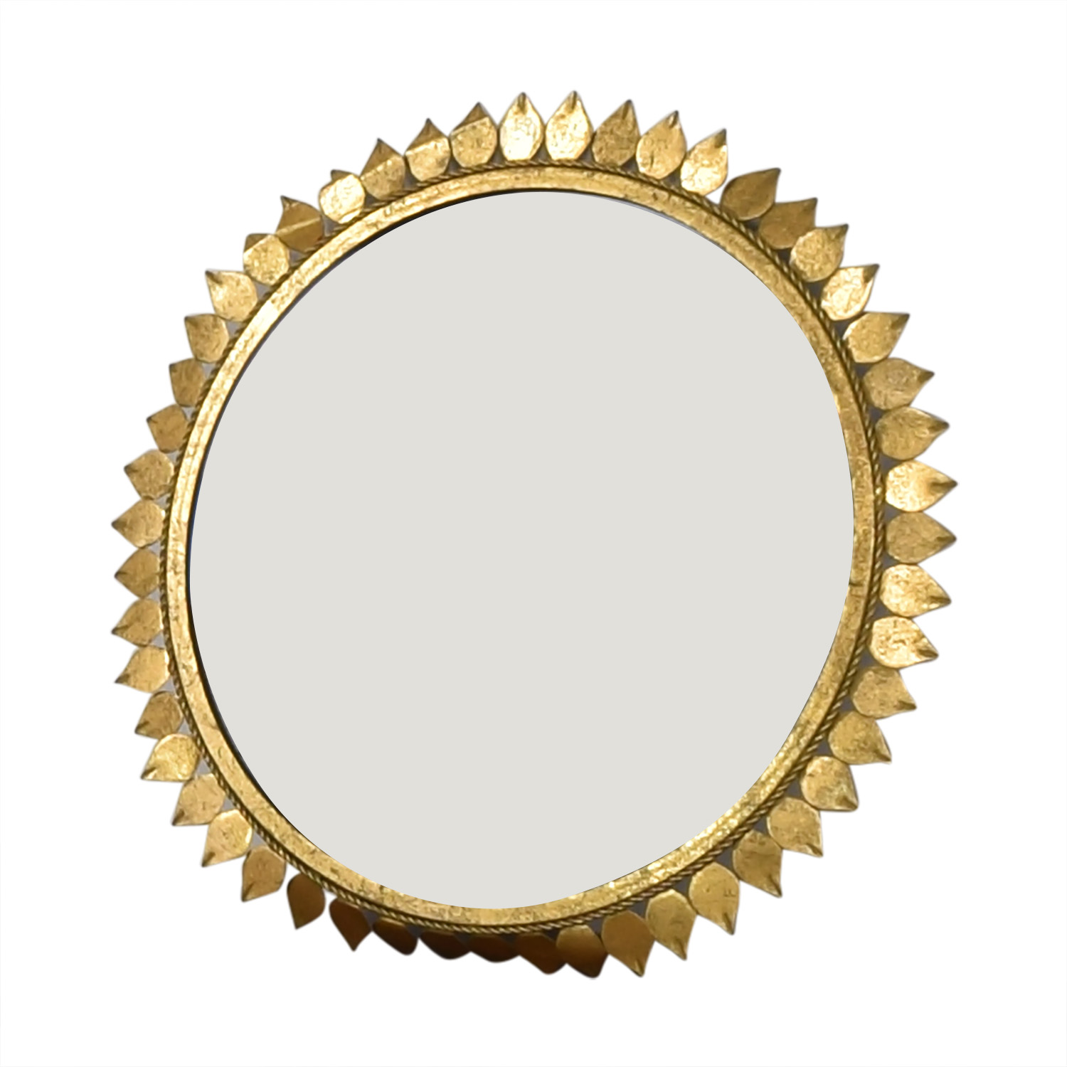 Sunflower Frame Circle Mirror discount