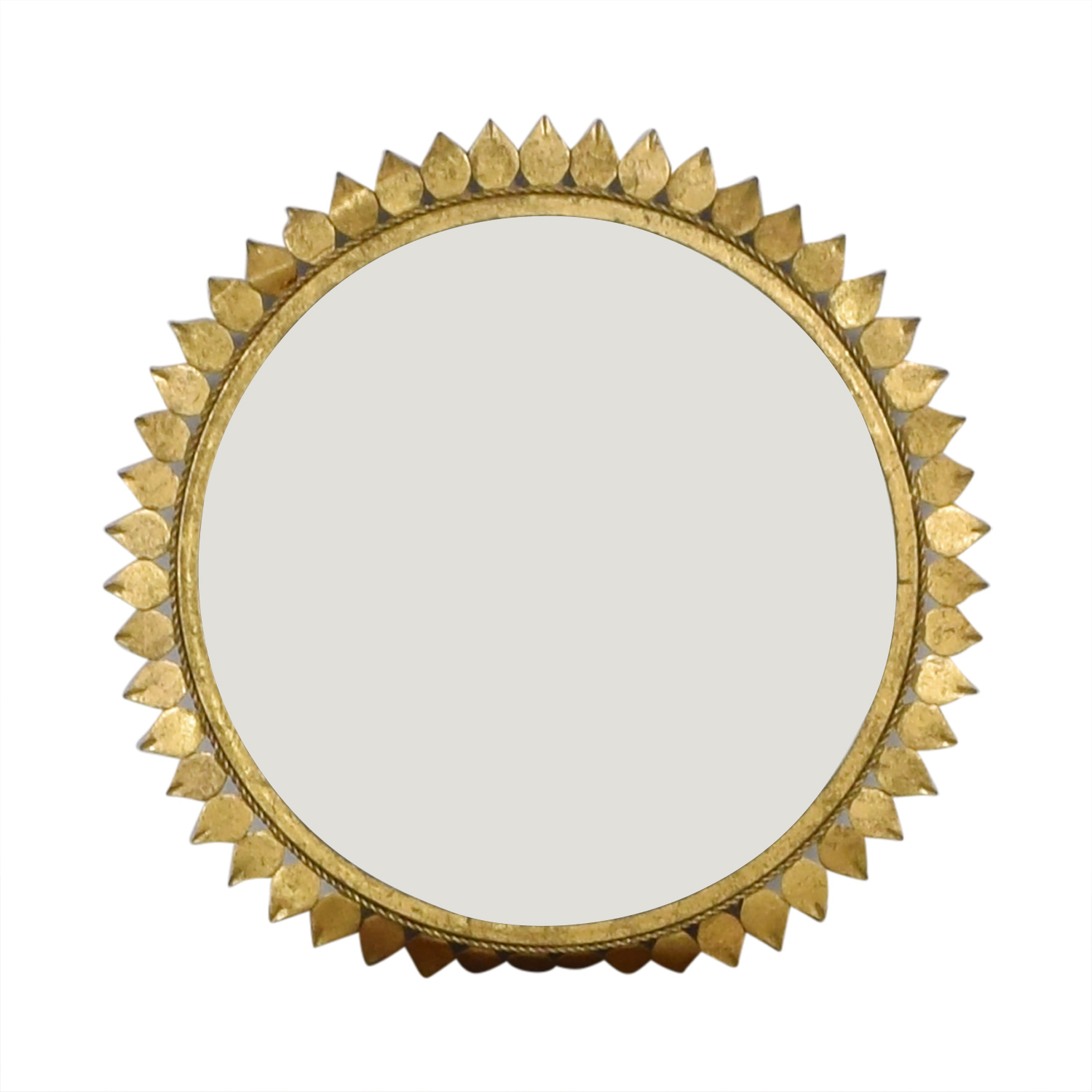 Sunflower Frame Circle Mirror nyc