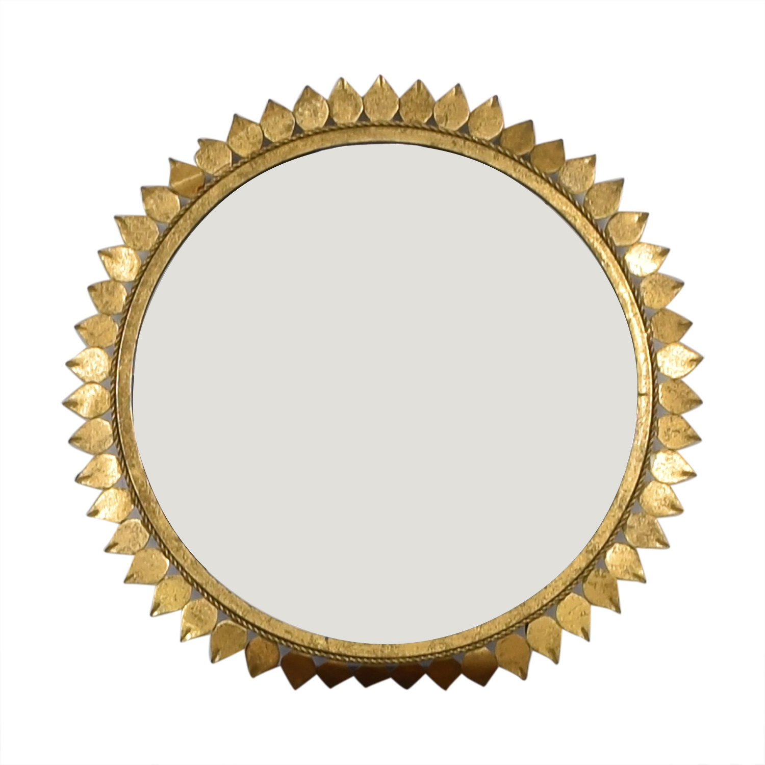buy Sunflower Frame Circle Mirror  Decor