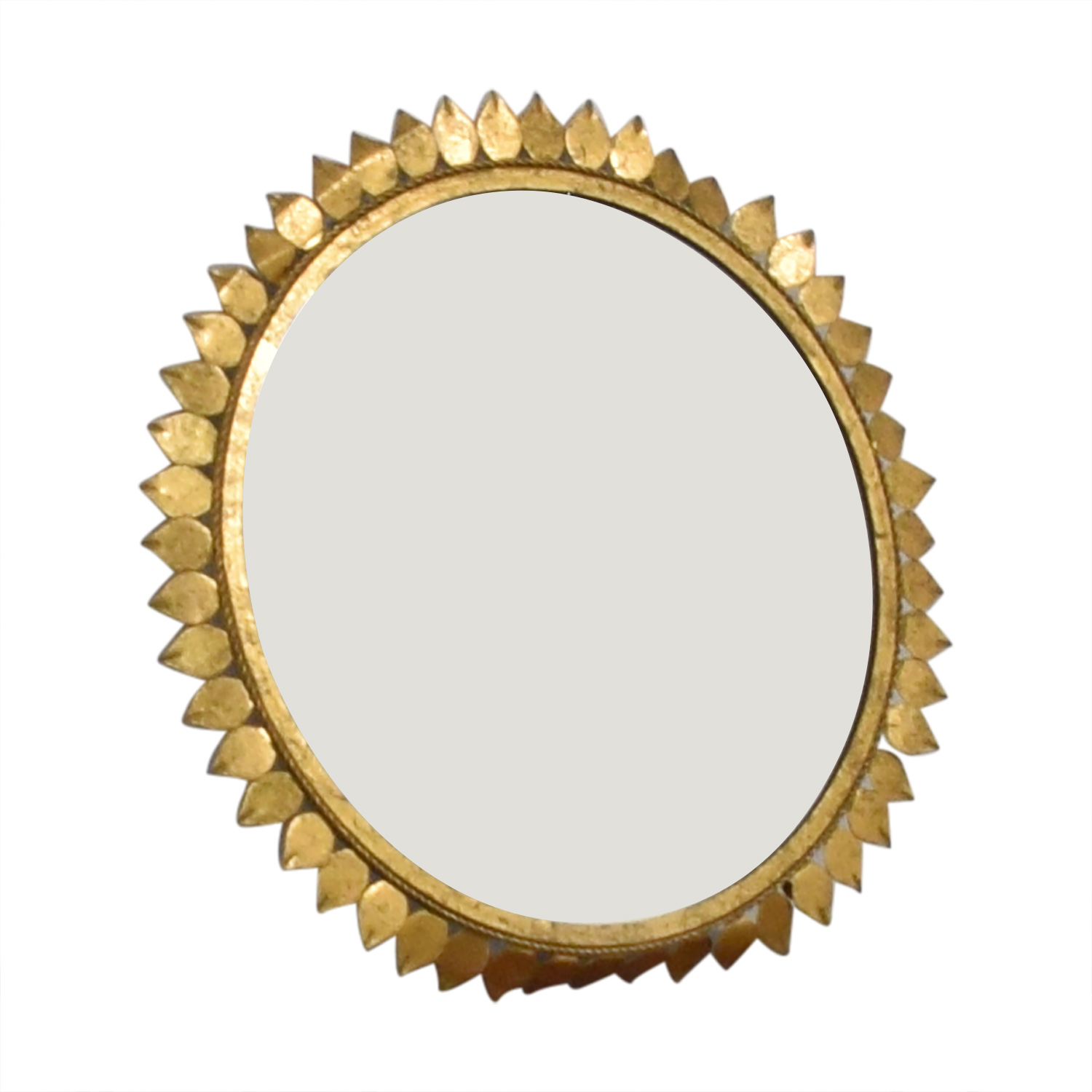 Sunflower Frame Circle Mirror sale