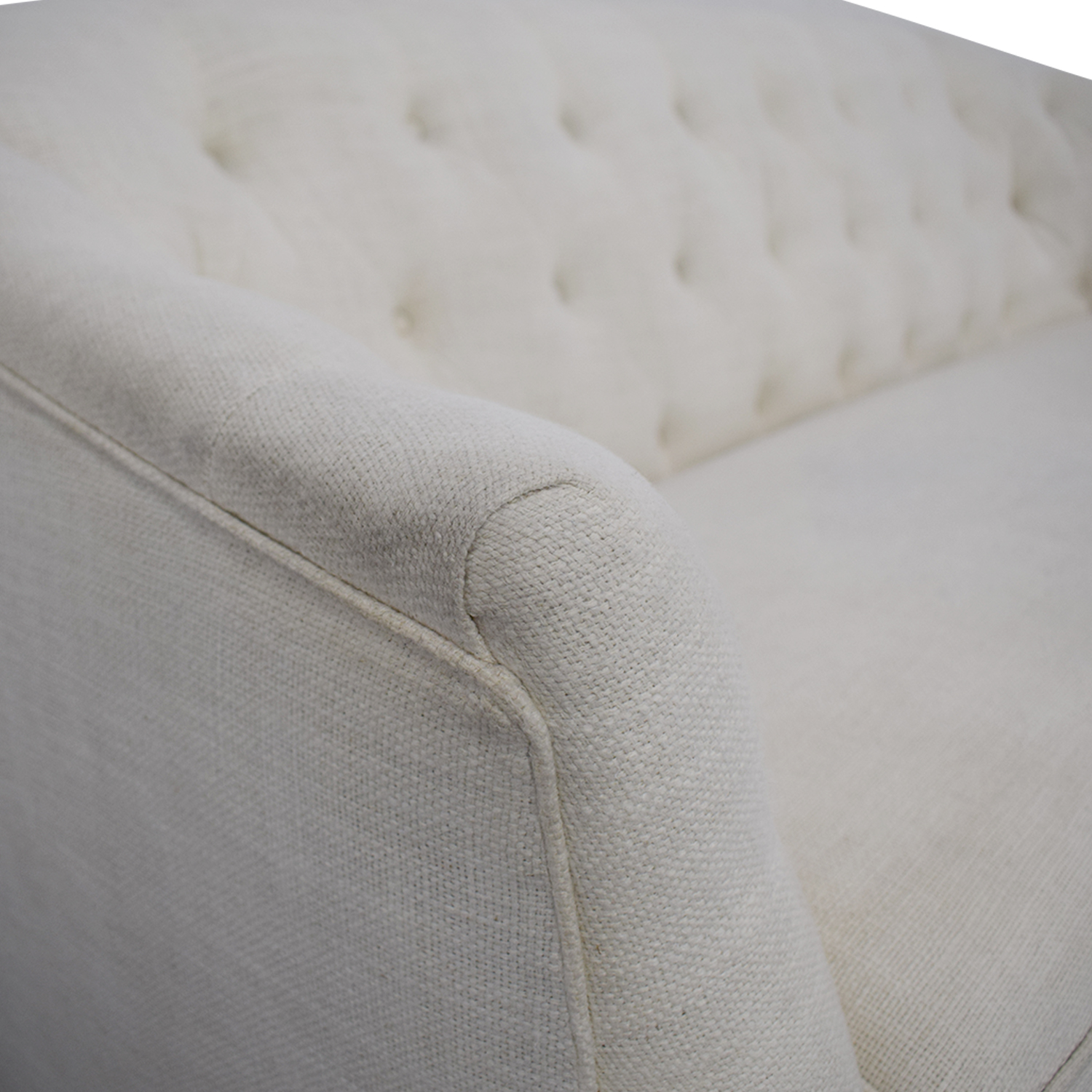 Z Gallerie Z Gallerie Tufted Curved Tuxedo Sofa nyc