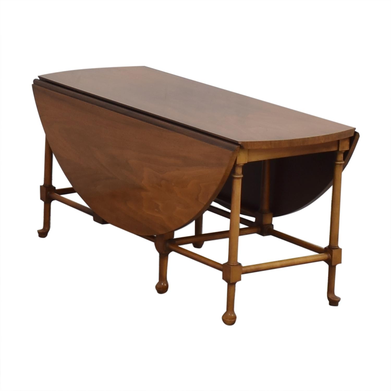 Baker Furniture Baker Furniture Drop-Leaf Coffee Table nyc