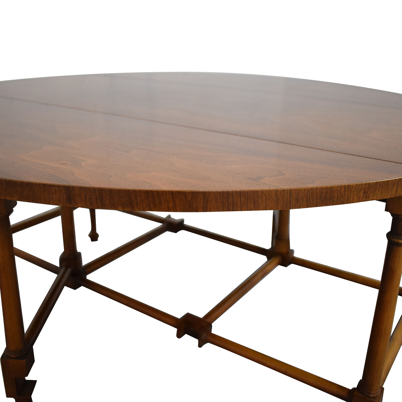 shop Baker Furniture Drop-Leaf Coffee Table Baker Furniture Coffee Tables