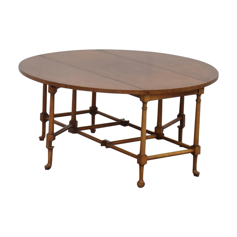 Baker Furniture Drop-Leaf Coffee Table sale