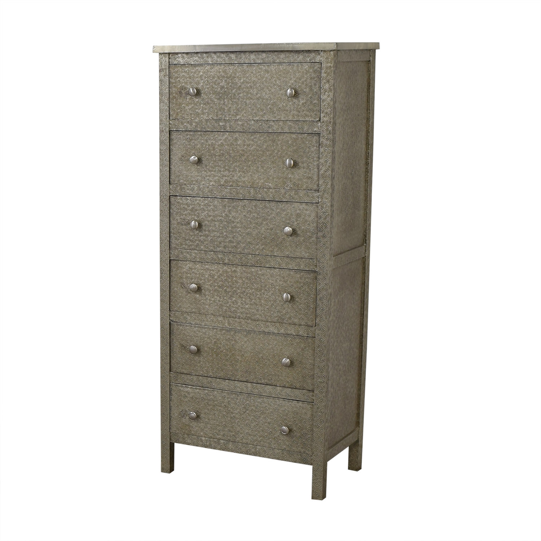 buy World Market Embossed Kiran Tall Dresser World Market Storage