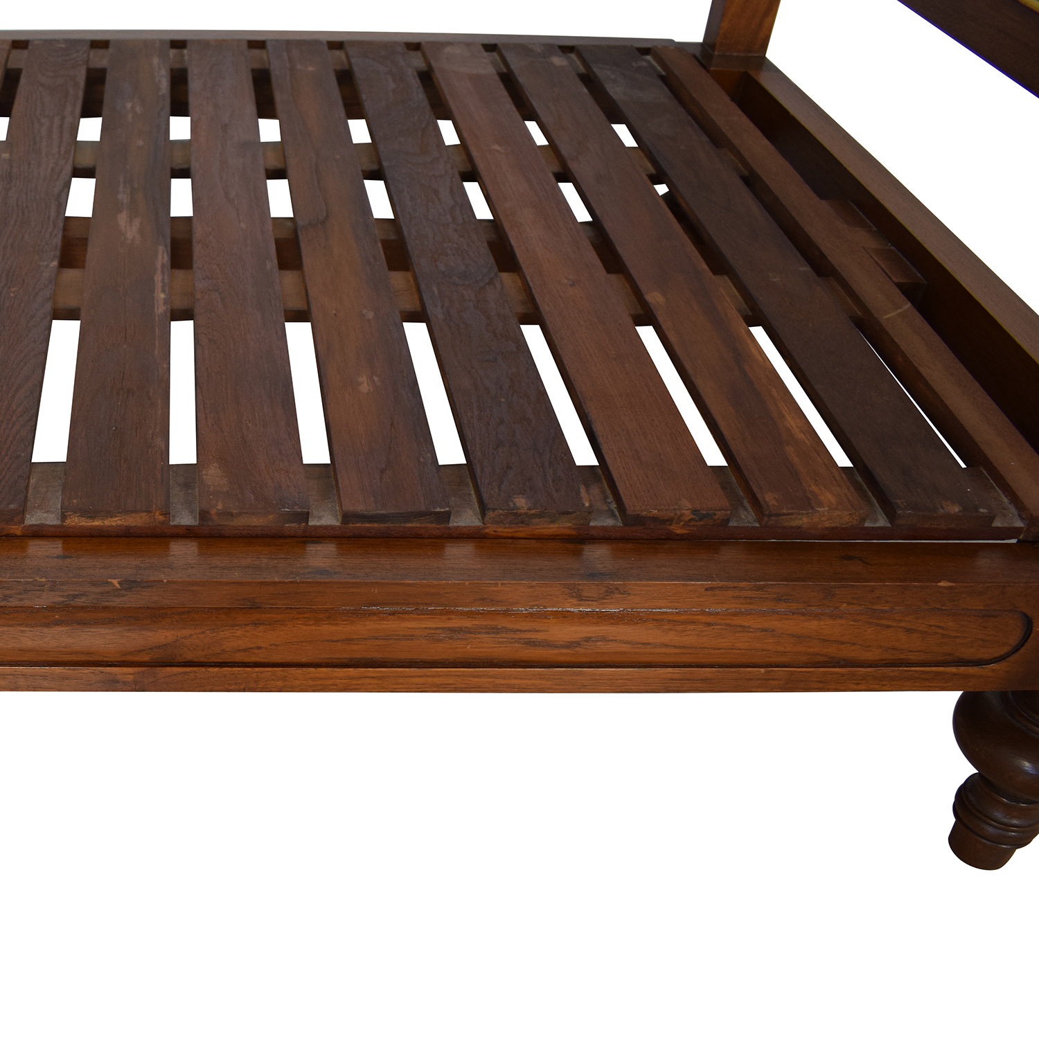 Pleasant 83 Off Colonial Cane Sleigh Twin Bed Beds Spiritservingveterans Wood Chair Design Ideas Spiritservingveteransorg