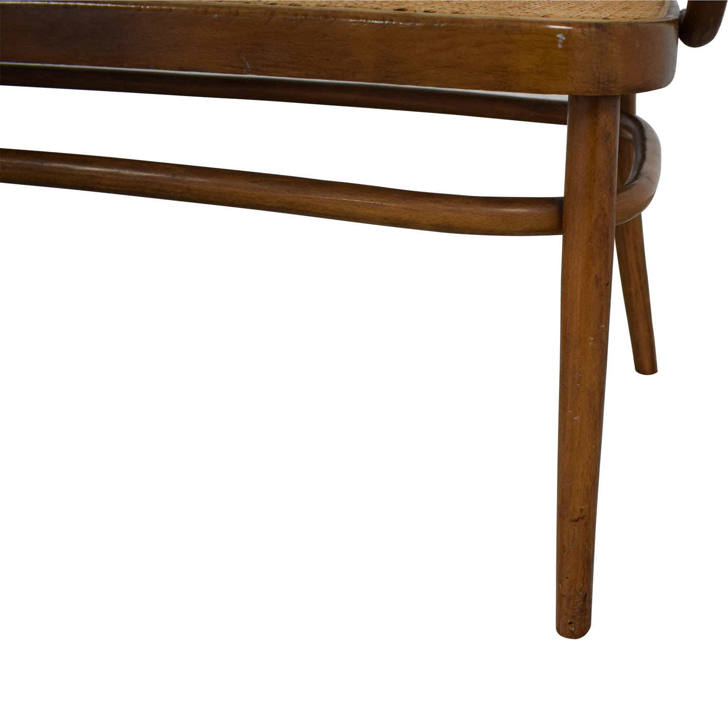 buy Thonet Bentwood Cane Bistro Bench Thonet Chairs