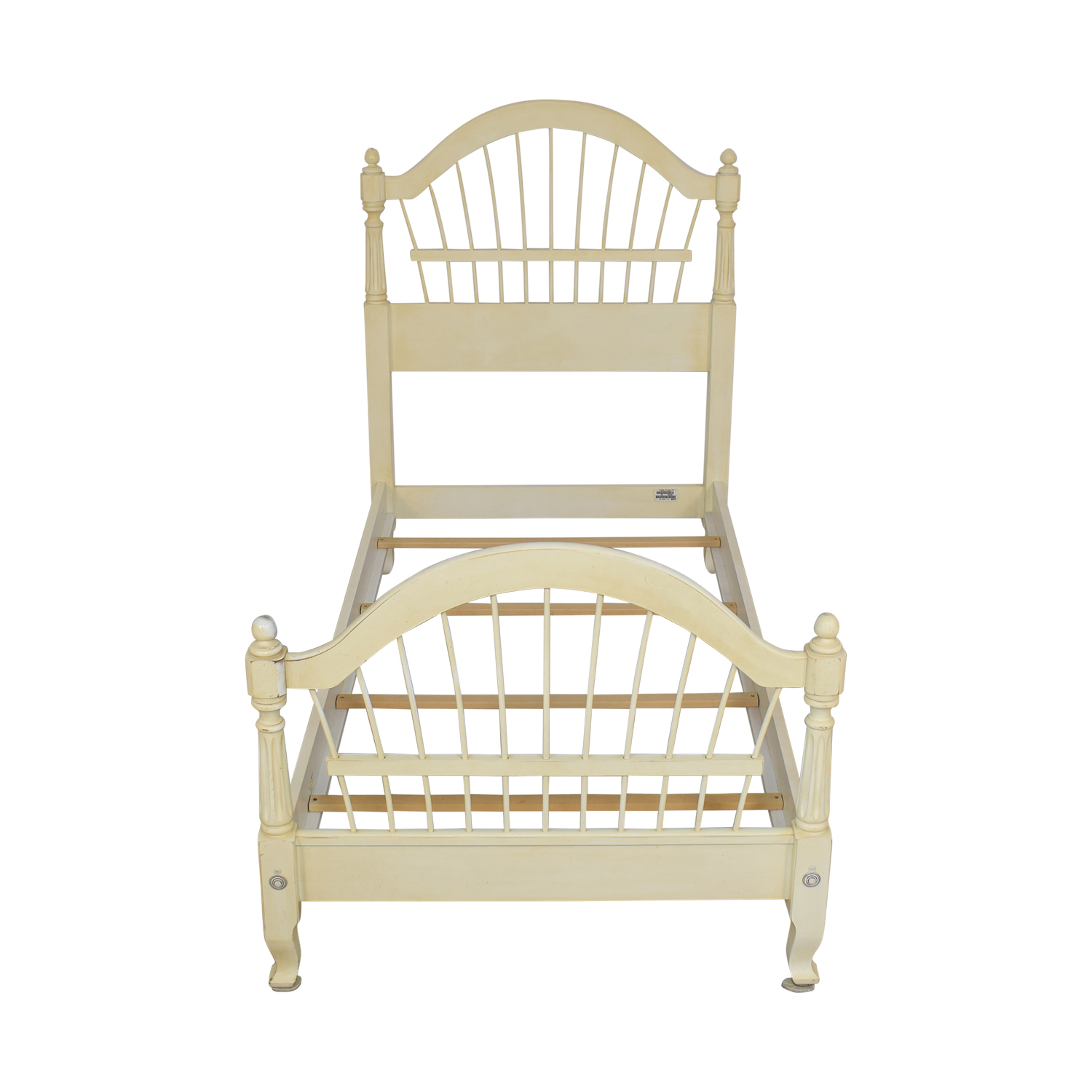 Ethan Allen Ethan Allen Country French Twin Bed Bed Frames