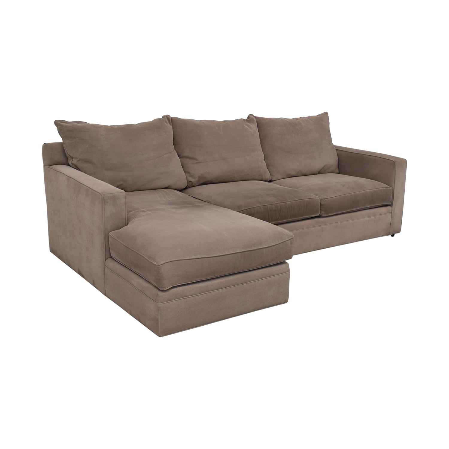 shop Room & Board Orson Sectional Couch Room & Board Sofas
