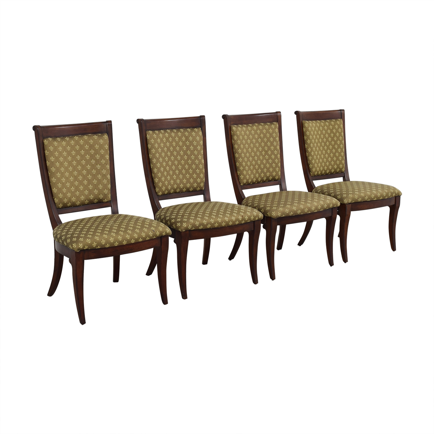 Bassett Furniture Bassett Furniture Upholstered Side Chairs brown