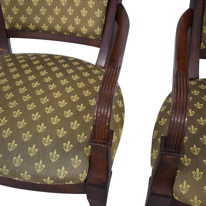 shop Bassett Furniture Upholstered Dining Arm Chairs Bassett Furniture