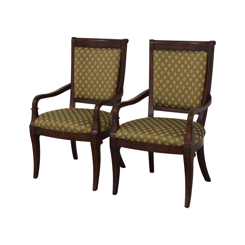 Bassett Furniture Bassett Furniture Upholstered Dining Arm Chairs price