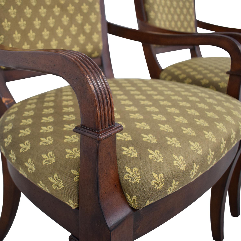 shop Bassett Furniture Upholstered Dining Arm Chairs Bassett Furniture Chairs