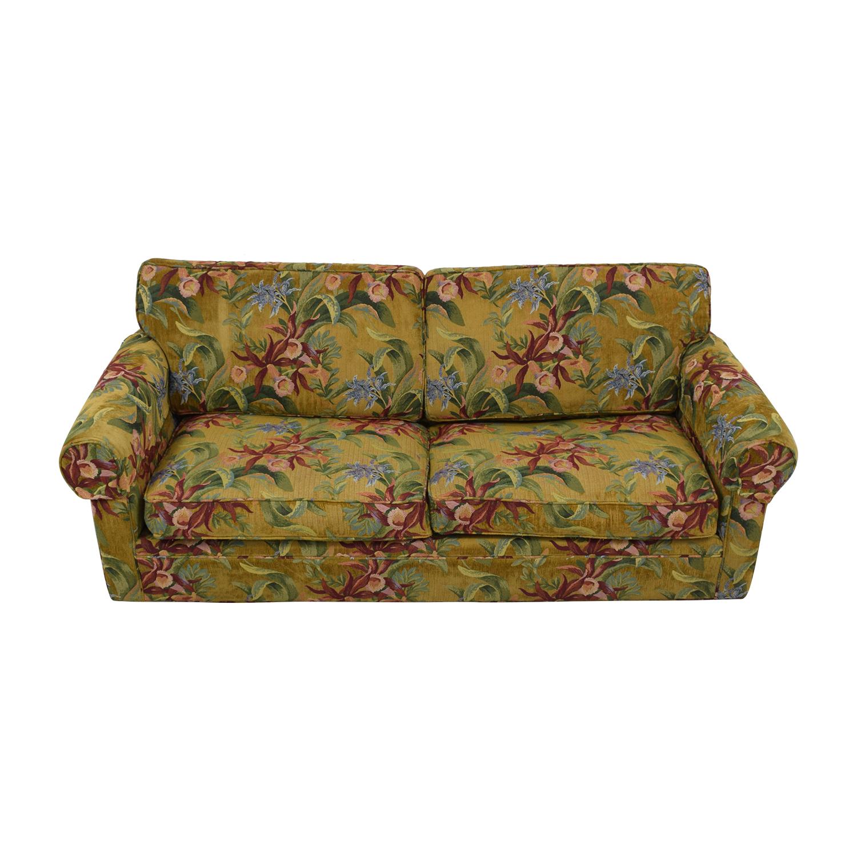 buy Crate & Barrel Custom Fabric Full Sleeper Sofa Crate & Barrel Sofas