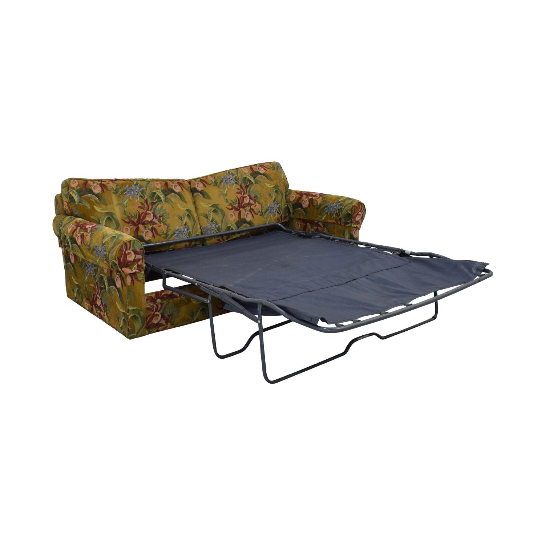 buy Crate & Barrel Crate & Barrel Custom Fabric Full Sleeper Sofa online