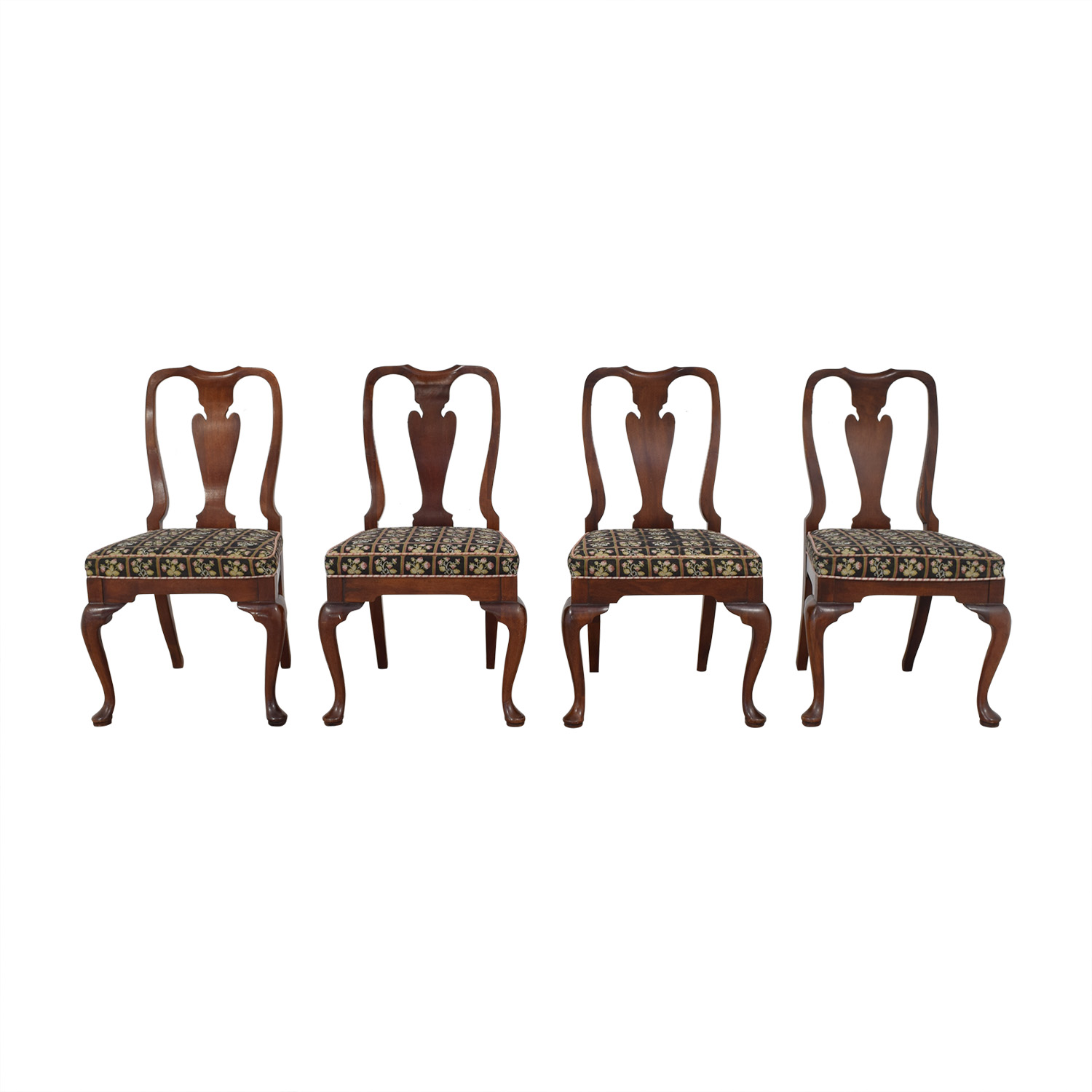 buy Patterned Upholstered Dining Side Chairs