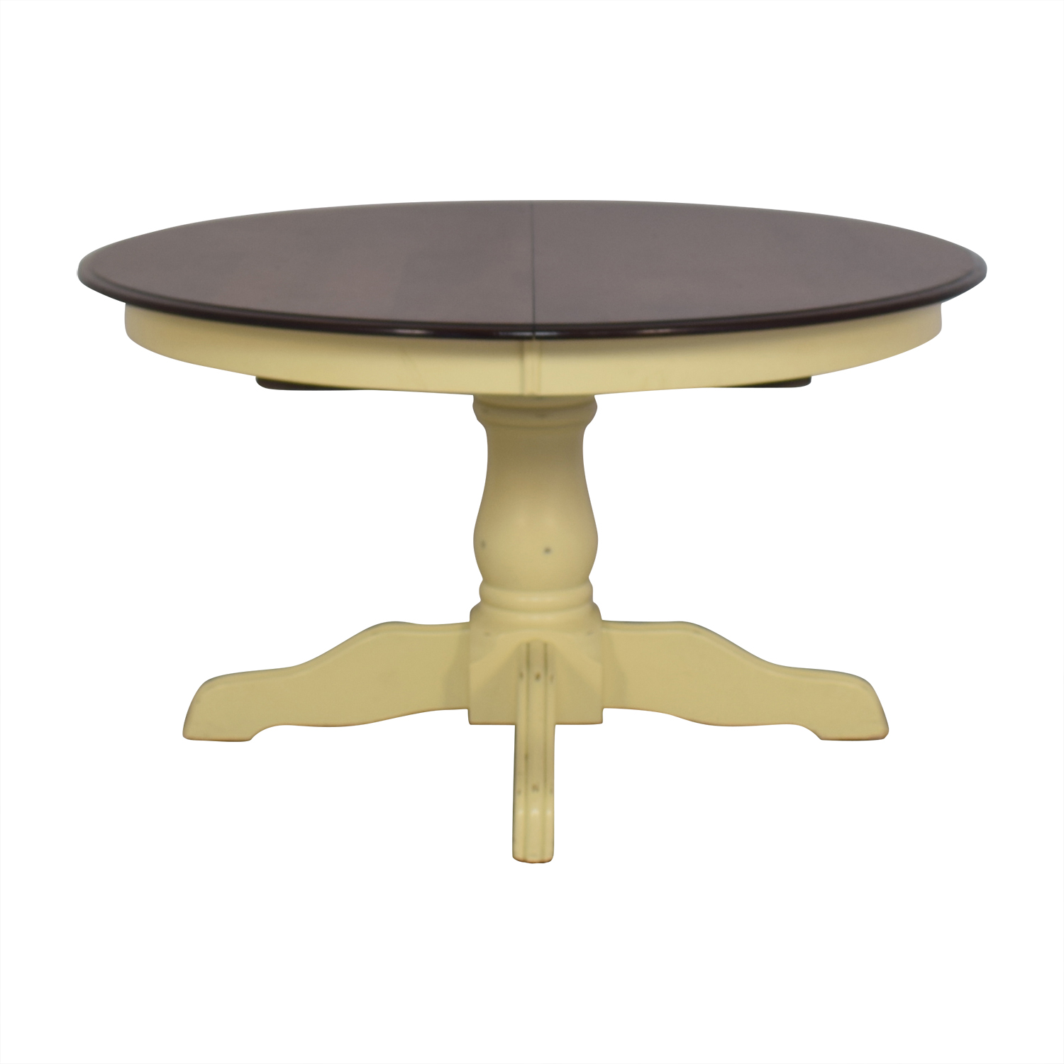 Expandable Pedestal Dining Table sale