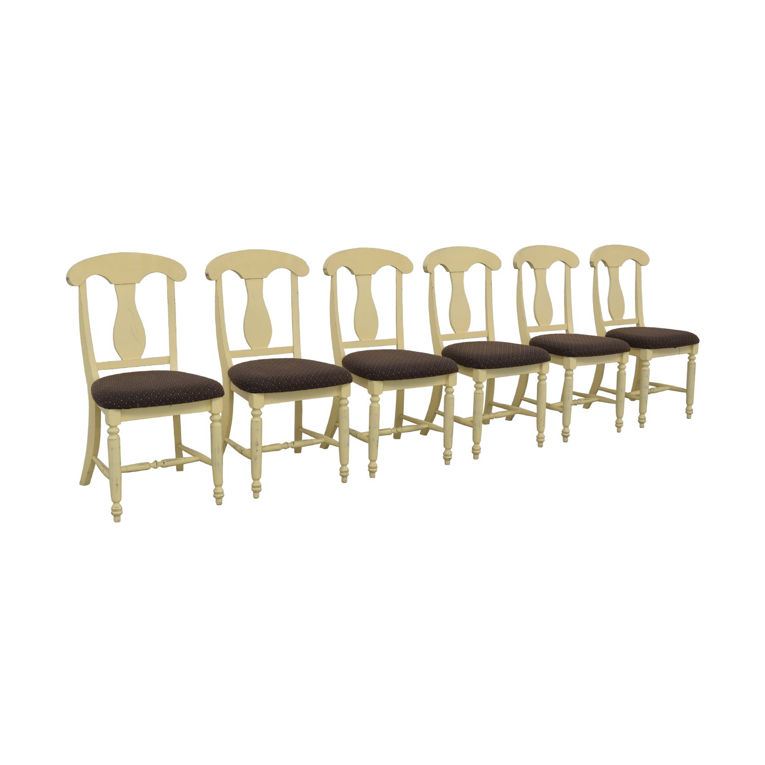 Canadel Furniture Upholstered Dining Chairs used