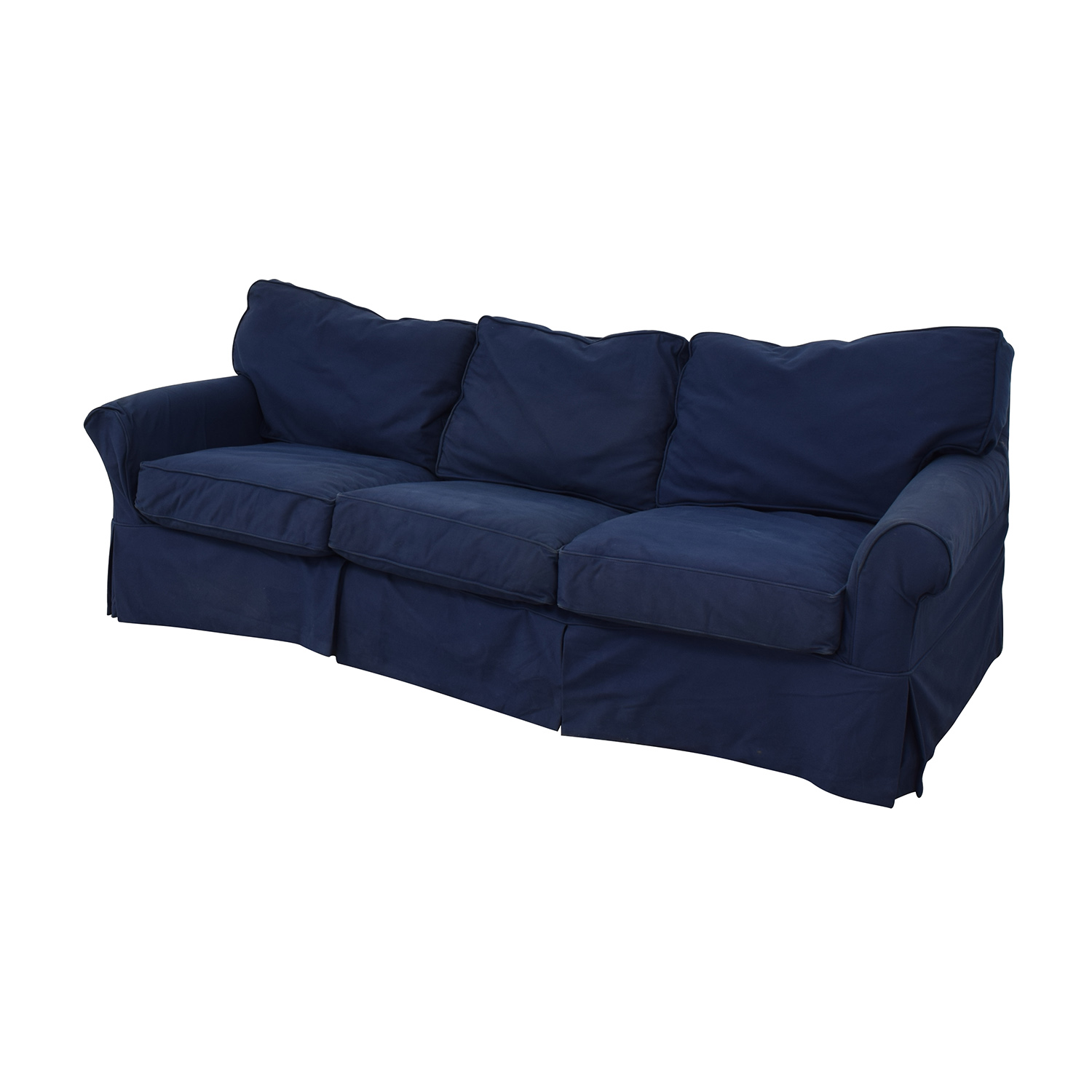 73% OFF - Crate & Barrel Crate & Barrel Sleeper Sofa / Sofas