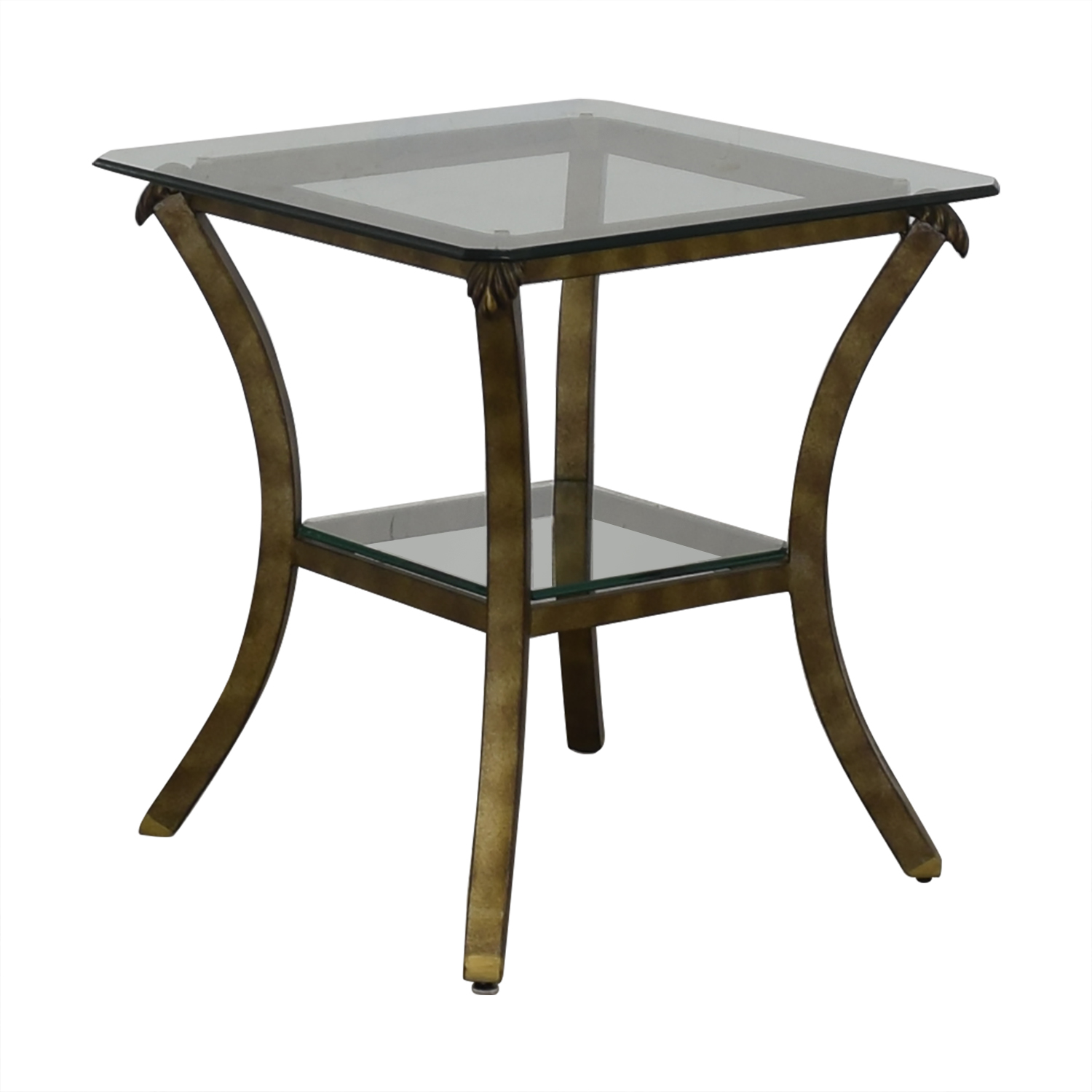 shop Fortunoff Fortunoff Glass End Table online