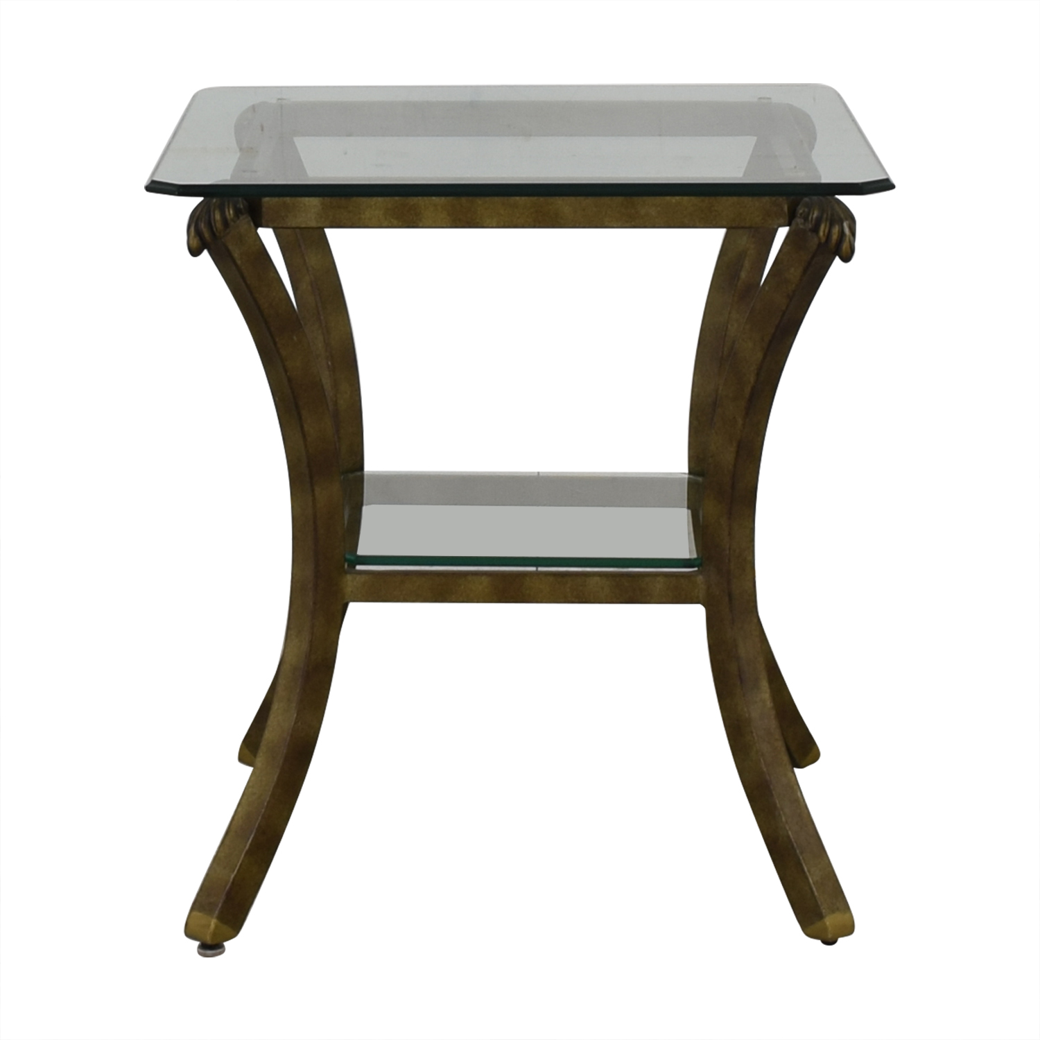 buy Fortunoff Glass End Table Fortunoff End Tables