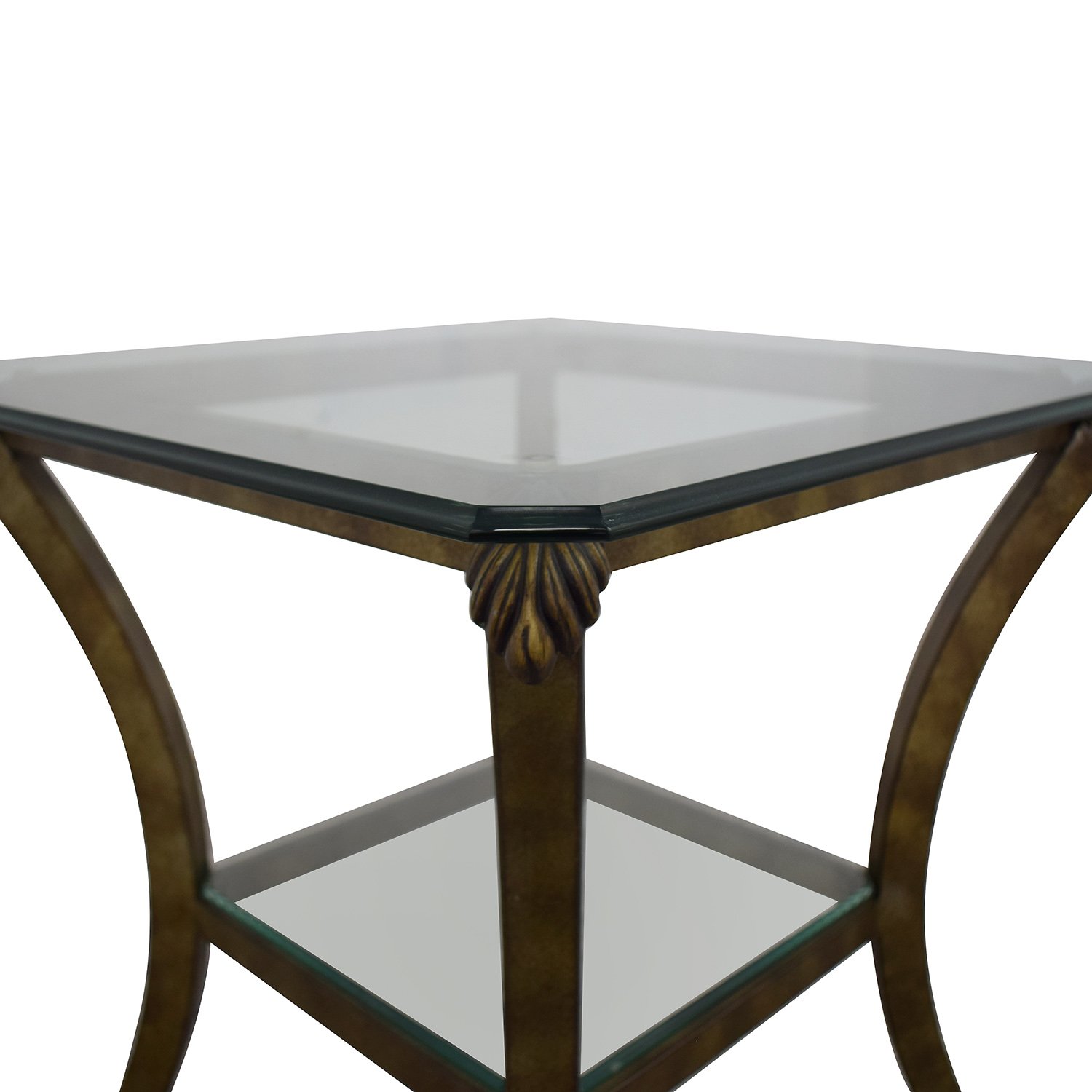 buy Fortunoff Glass End Table Fortunoff