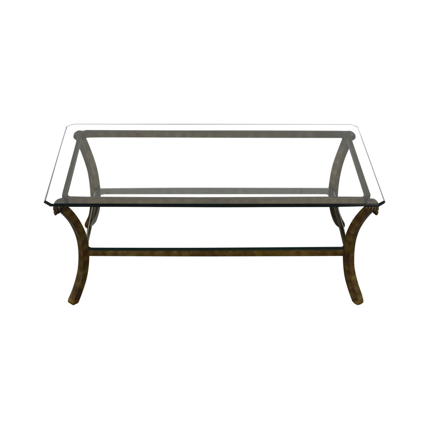 Fortunoff Fortunoff Glass Coffee Table coupon