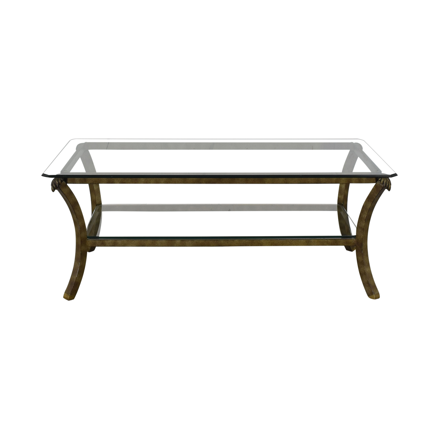 shop Fortunoff Fortunoff Glass Coffee Table online