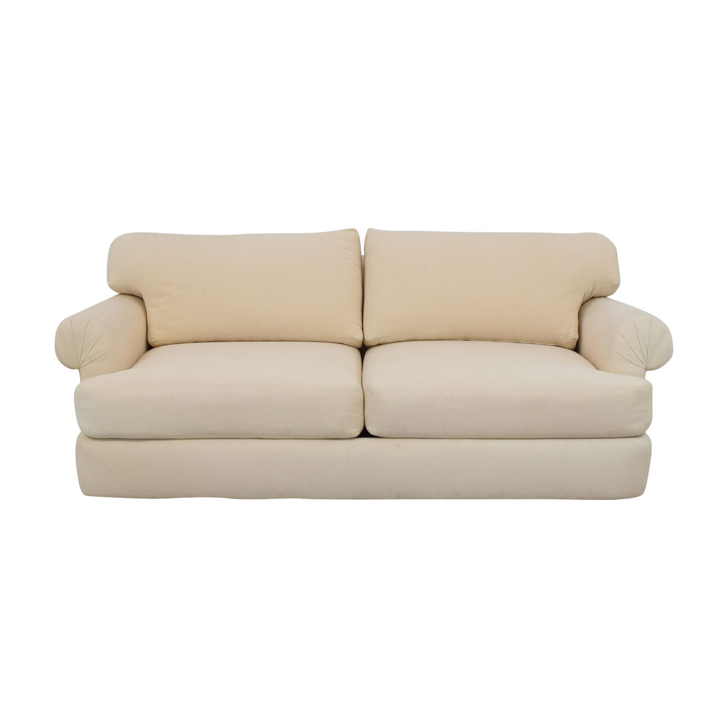 shop Two Cushion Roll Arm Sofa  Classic Sofas