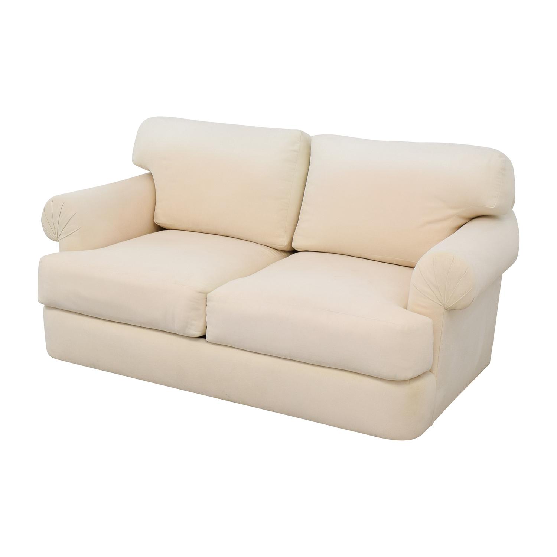 Two Cushion Loveseat beige