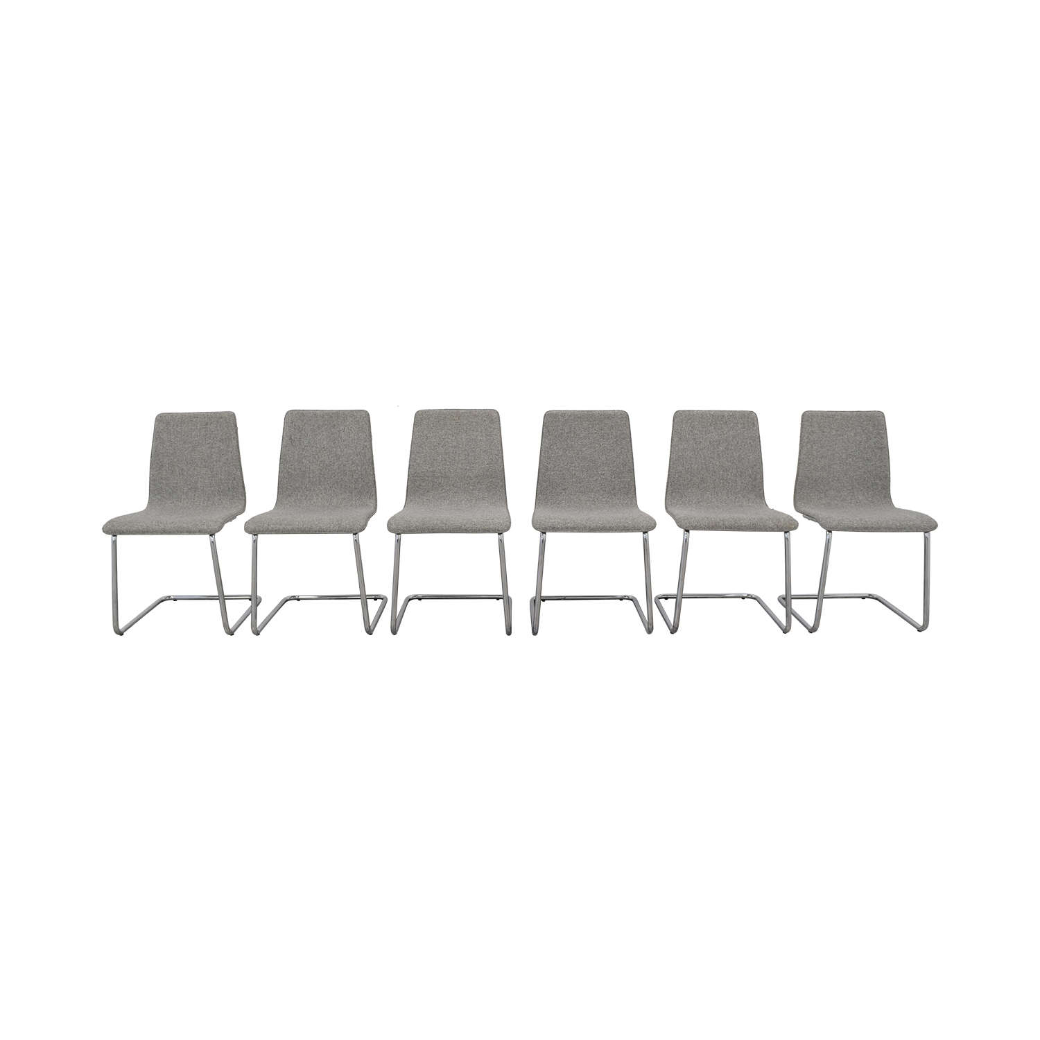 shop CB2 CB2 Grey Pony Dining Chairs online