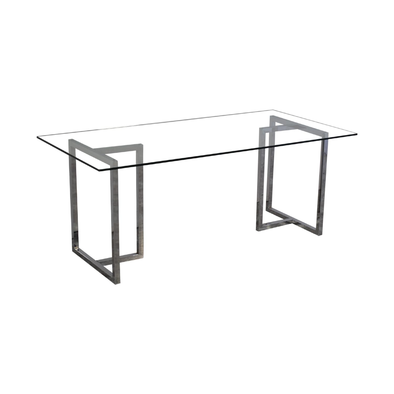 Awe Inspiring 31 Off Cb2 Cb2 Silverado Dining Table Tables Creativecarmelina Interior Chair Design Creativecarmelinacom