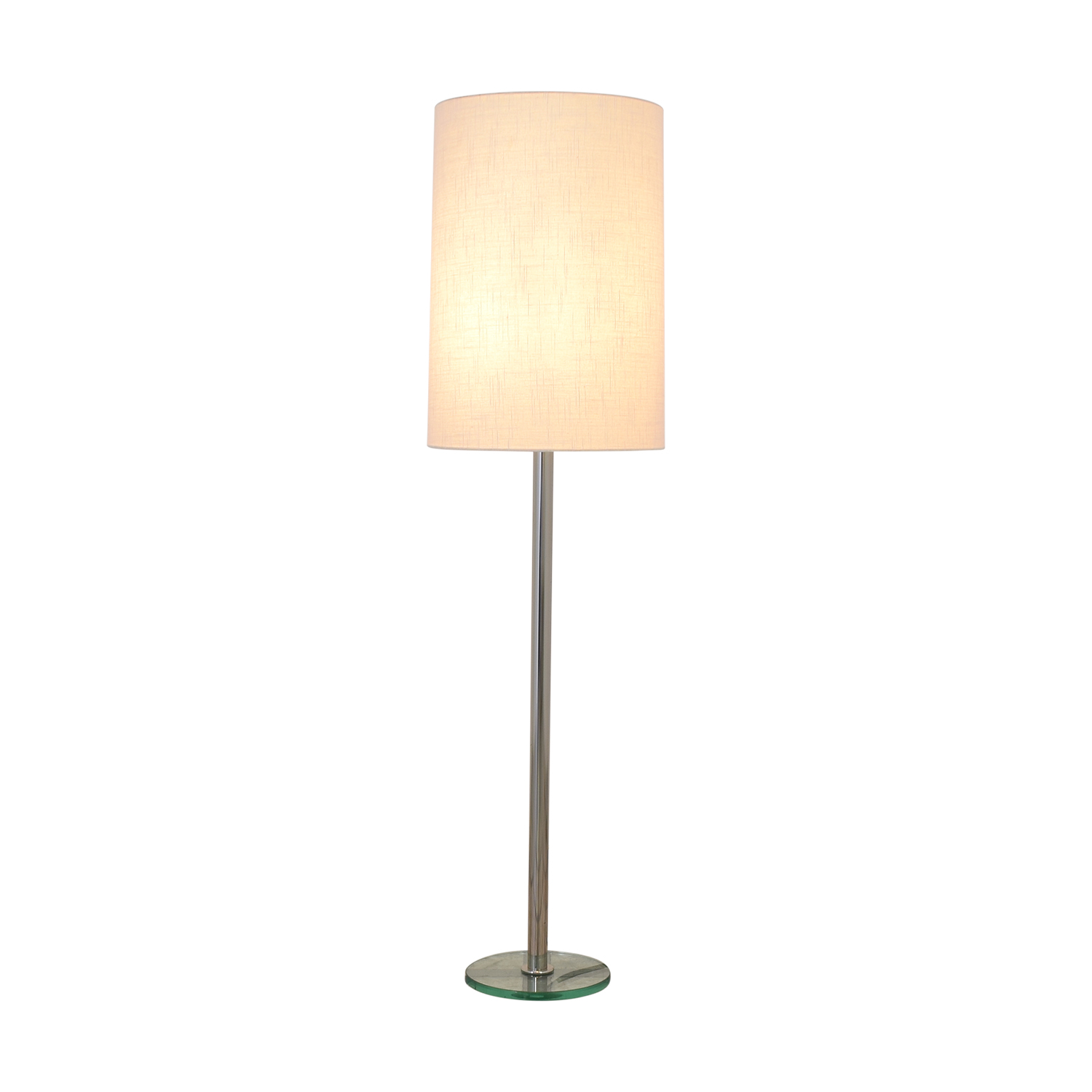 shop Crate & Barrel Claire Floor Lamp Crate & Barrel