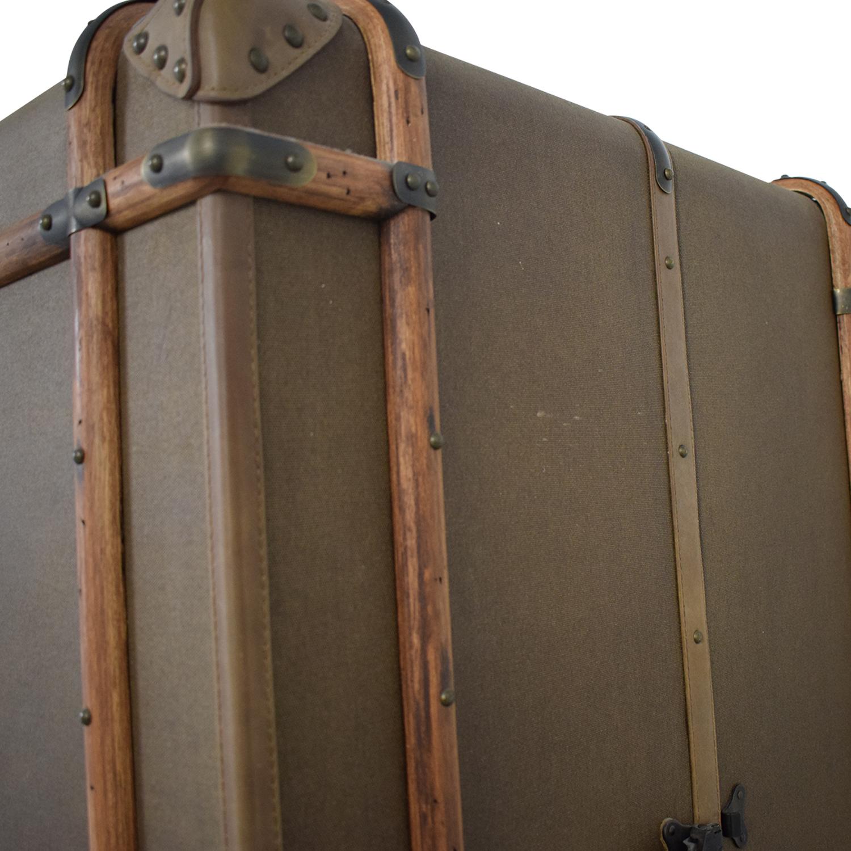 Restoration Hardware Restoration Hardware Richard's Trunk Secretary beige