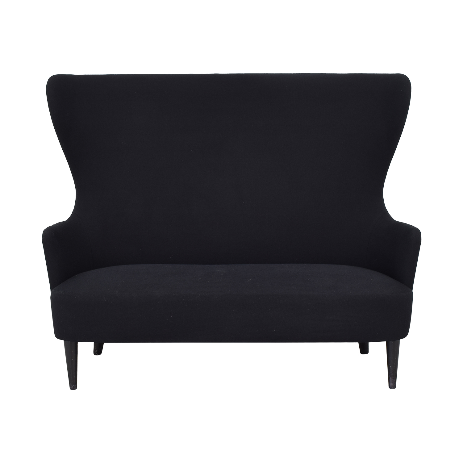 buy Tom Dixon Wingback Black Leg Hallingdal 65 Sofa Tom Dixon Loveseats