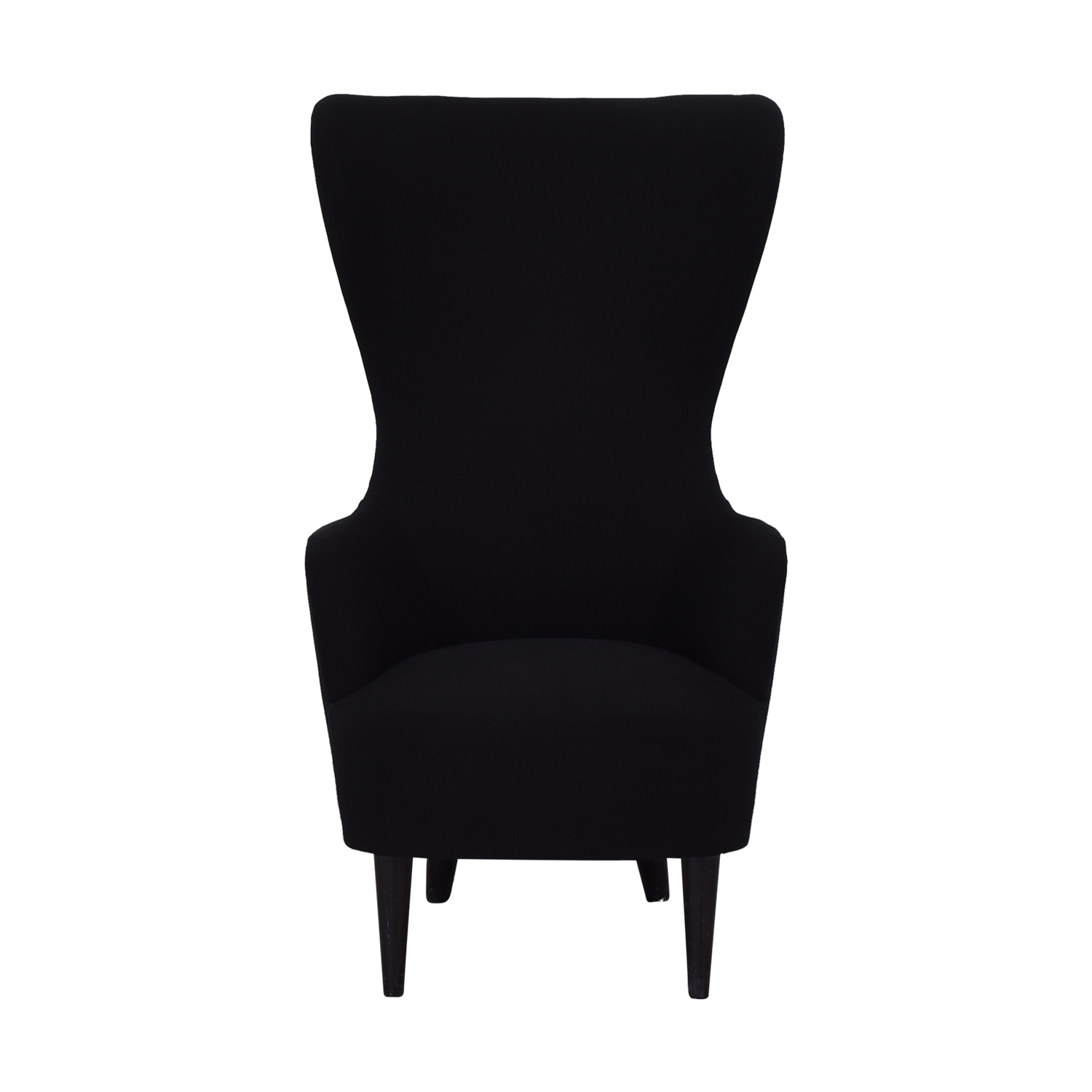 Tom Dixon Wingback Black Leg Hallingdal 65 Chair / Chairs